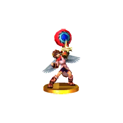Trofeo alternativo de Pit en Super Smash Bros. para 3DS