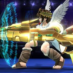Pit con el Aurora completo en Super Smash Bros. para Wii U