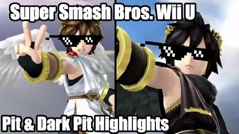 Super Smash Bros. for Wii U Pit & Dark Pit Highlights