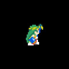 Sprite de Palutena en Super Mario Maker