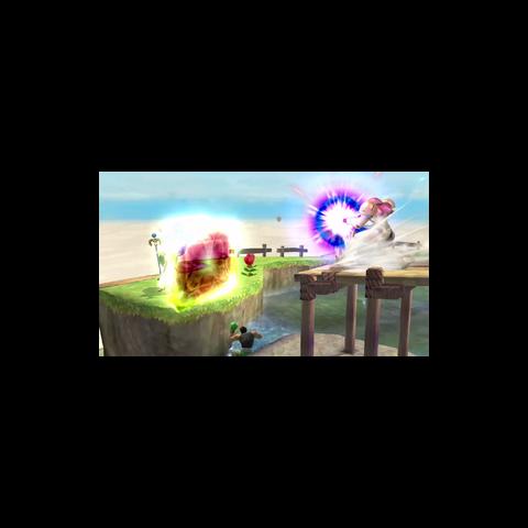 Palutena usando reflector en Super Smash Bros. para Wii U