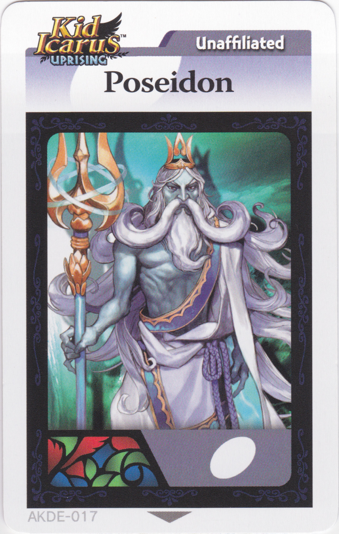 Poseidon Ar Card Divinipedia Fandom Powered By Wikia