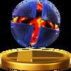 Trofeo de la Bomba X en Super Smash Bros. Wii U