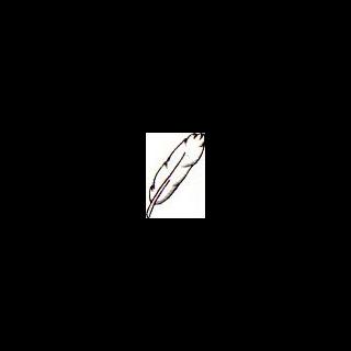 Artwork de la Pluma del Ángel en Kid Icarus: Of Myths and Monsters