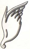 Artwork de las Alas de Pegaso en Kid Icarus Of Myths and Monsters