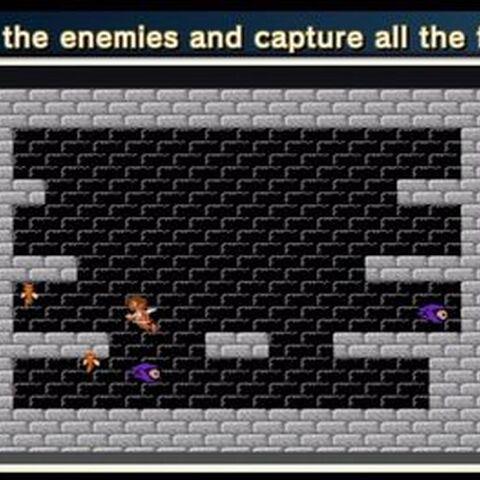 ¡Esquiva los enemigos!
