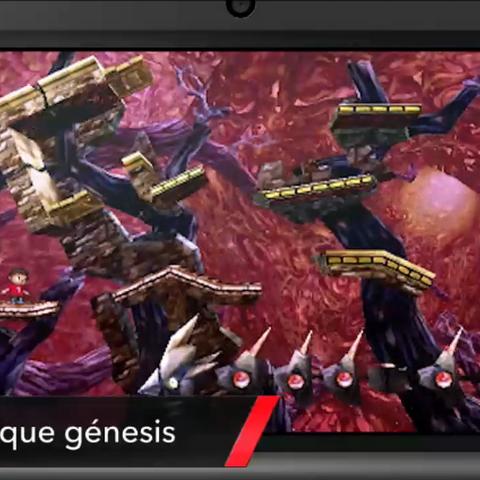 En el Bosque Génesis de Super Smash Bros. para 3DS, se puede ver una Raspanchoa en la parte inferior.
