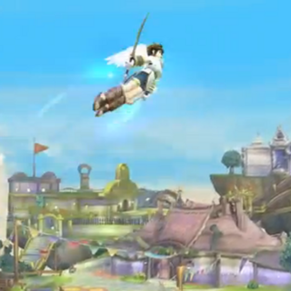 El Don del vuelo en Super Smash Bros. para Wii U