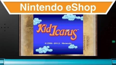 Nintendo eShop - 3D Classics Kid Icarus Trailer