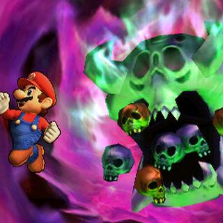 Orne junto a Mario en Super Smash Bros. para 3DS