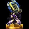 Trofeo de Pit Sombrio (alt.) SSB4 Wii U