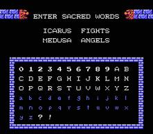 Contraseñas de Kid Icarus