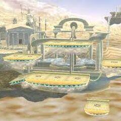 El Reino del Cielo en Super Smash Bros. Brawl