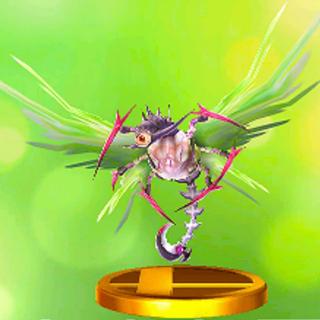 Trofeo del Segador del Caos en Super Smash Bros. para 3DS