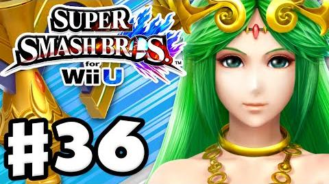 Super Smash Bros. Wii U - Gameplay Walkthrough Part 36 - Palutena! (Nintendo Wii U Gameplay)