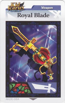 Royalbladearcard