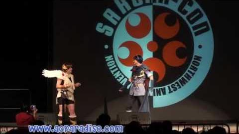 Sakuracon 2009 - 05 Marth Heart to Heart with Pit Super Smash Bros
