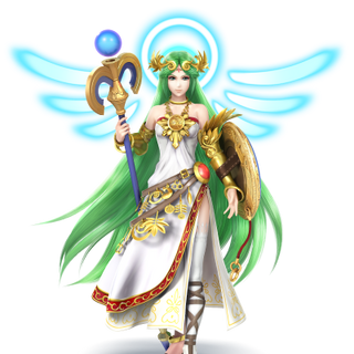 Artwork de Palutena en Super Smash Bros. (3DS/Wii U)
