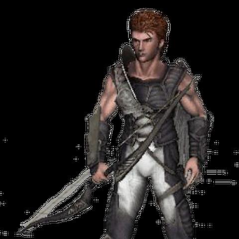 Sprite del modelo de Pit usado en el juego