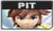 Icono de selección de Pit en SSBB