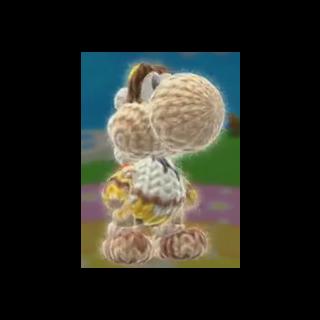 Pit Yoshi, de Yoshi's Woolly World