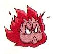 Artwork de Bola de fuego en Kid Icarus Of Myths and Monsters