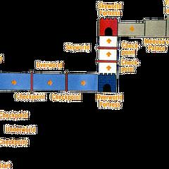 Mapa de la Tierra de los Ángeles