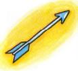 Artwork de la Flecha de luz en Kid Icarus