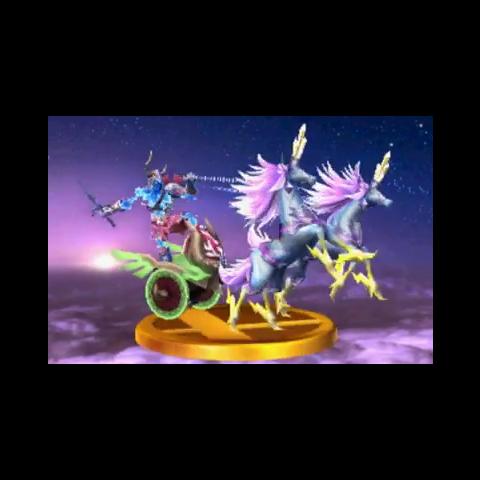 Trofeo de Auriga en Super Smash Bros. para 3DS