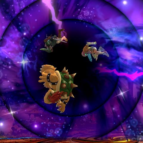 Agujero negro en Super Smash Bros. para Wii U