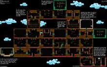 Mapa 1-4 de Kid Icarus (NES)