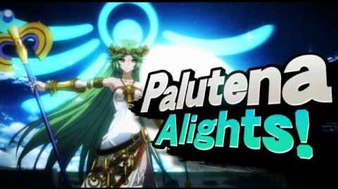 Palutena in Smash Bros Wii U 3DS (E3 2014)