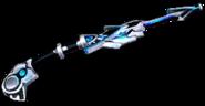 Laser staff