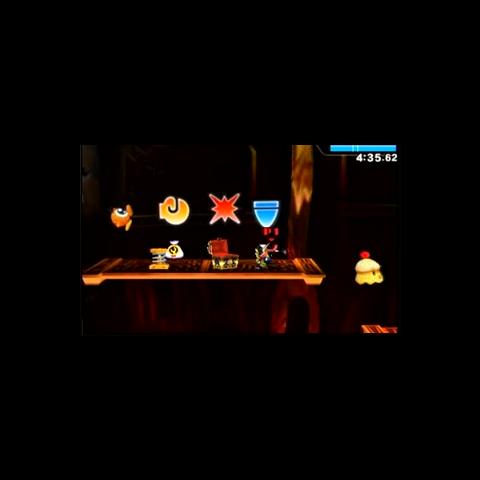 Eurídulce en el modo Smashventura de Super Smash Bros. para 3DS