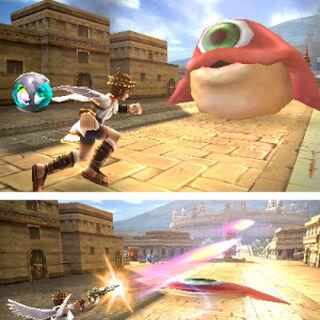 thumb|Pit atacando a Nétora en Kid Icarus: Uprising