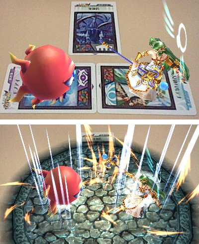 Kid Icarus Uprising AKDP Three Scared Treasures first edition  card wingless