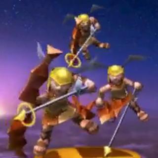 Trofeo de los Icarios en Super Smash Bros. para 3DS