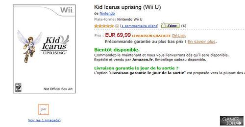 Kid Icarus Uprising Wii