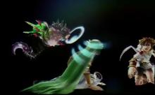 Chaos kin steals Palutena's Soul