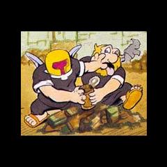 Un Plutón peleando con un <a class=