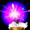 Trofeo de Baculo Sombrio SSB4 Wii U