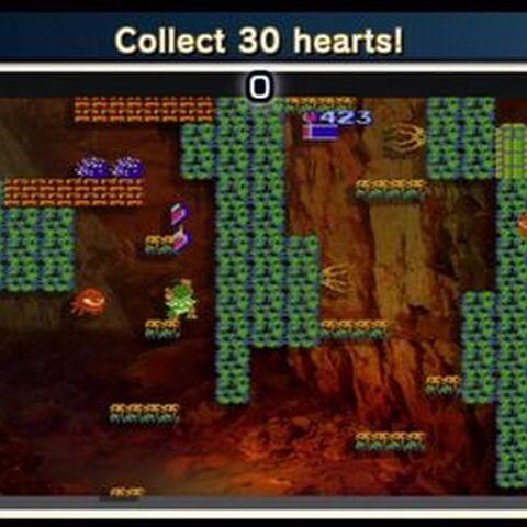 ¡Recoge 30 corazones!