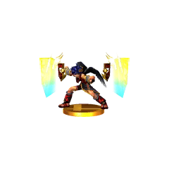 Trofeo alternativo de Pit Sombrío en Super Smash Bros. para 3DS