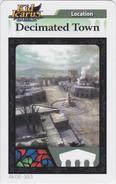 Decimatedtownarcard