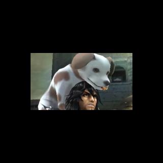 Magno en el capítulo 18, con el perro.
