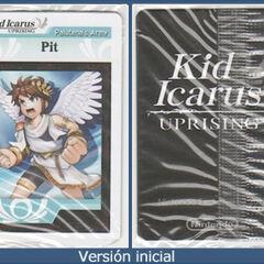 Versión inicial de las cartas de RA (se puede apreciar la parte de atrás y el otro diseño de Pit)