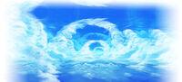 Artwork de Reino del Cielo en Kid Icarus Uprising