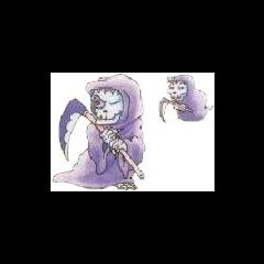 Un Funesto menor en el artwork de Funesto de Kid Icarus