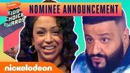 Liza Koshy & 2019 KCA Host DJ Khaled Reveal This Year's Nominees Nick