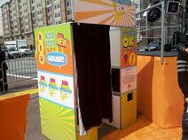 KCA2011-orangecarpet photobooth